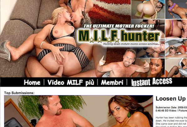 milf hunted homepage
