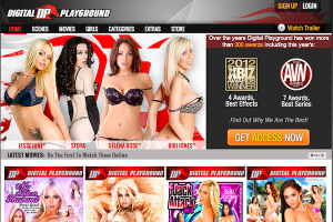 Digital Playground welcome page