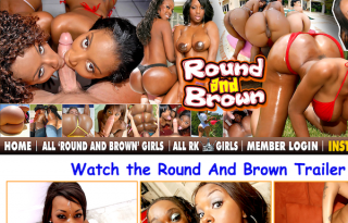 Round and Brown homepage