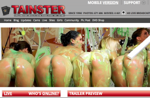 tainster porn network