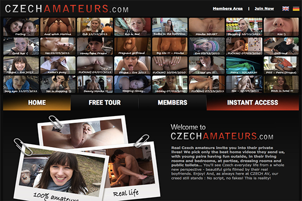 CzechAmateurs is the best site for real amateur videos