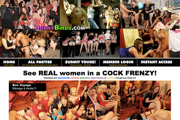 On HornyBirds you will find everything you need for your sexual fantasies
