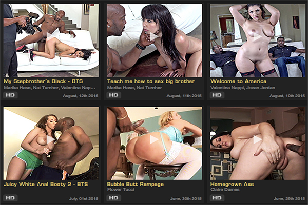 WCPClub offers interracial hardcore porn videos
