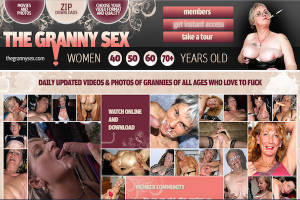 TheGrannySex the best site for mature women