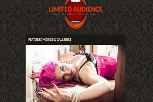 LimitedAudience the best site for fetish porn contents