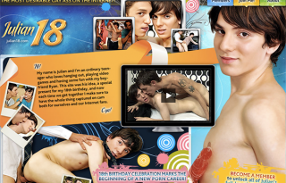 Julian18 is the best site for gay contents