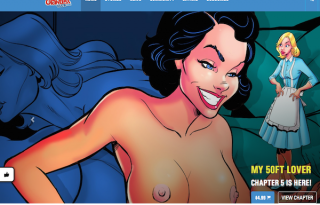 Great adult pay website featuring the finest adult comics