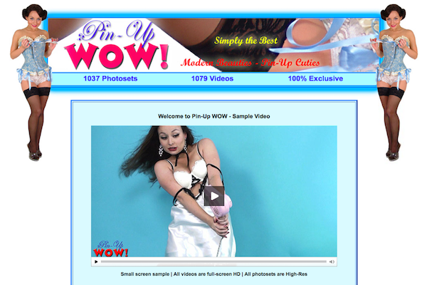 Most popular xxx site to get some some fine pinup stuff