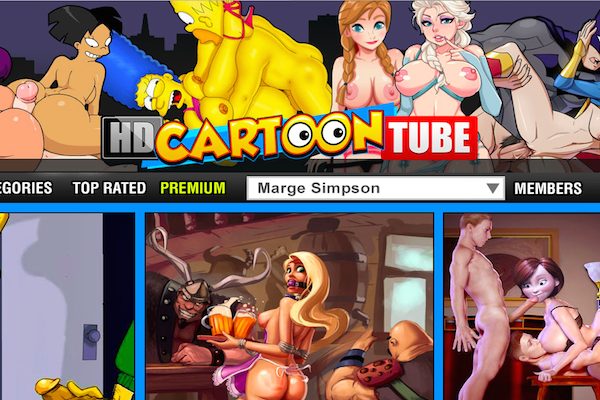 One of the top porn site to get some amazing cartoon material