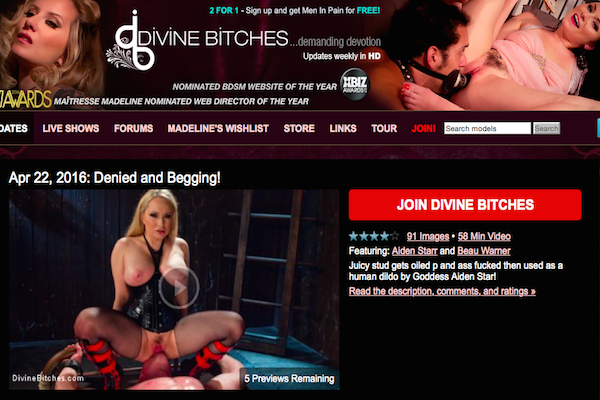 Top xxx site if you're into amazing fetish content