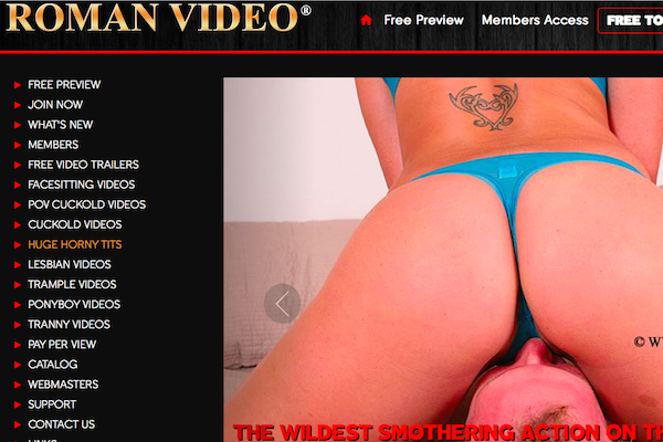 Definitely the most worthy pay porn website featuring awesome adult flicks